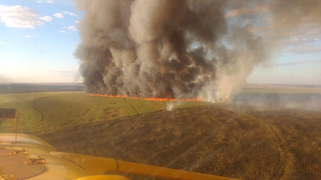Aprosoja-GO alerta sobre incêndios rurais e mostra exemplo de sucesso no  combate ao fogo no Sudoeste goiano - Aprosoja Goiás